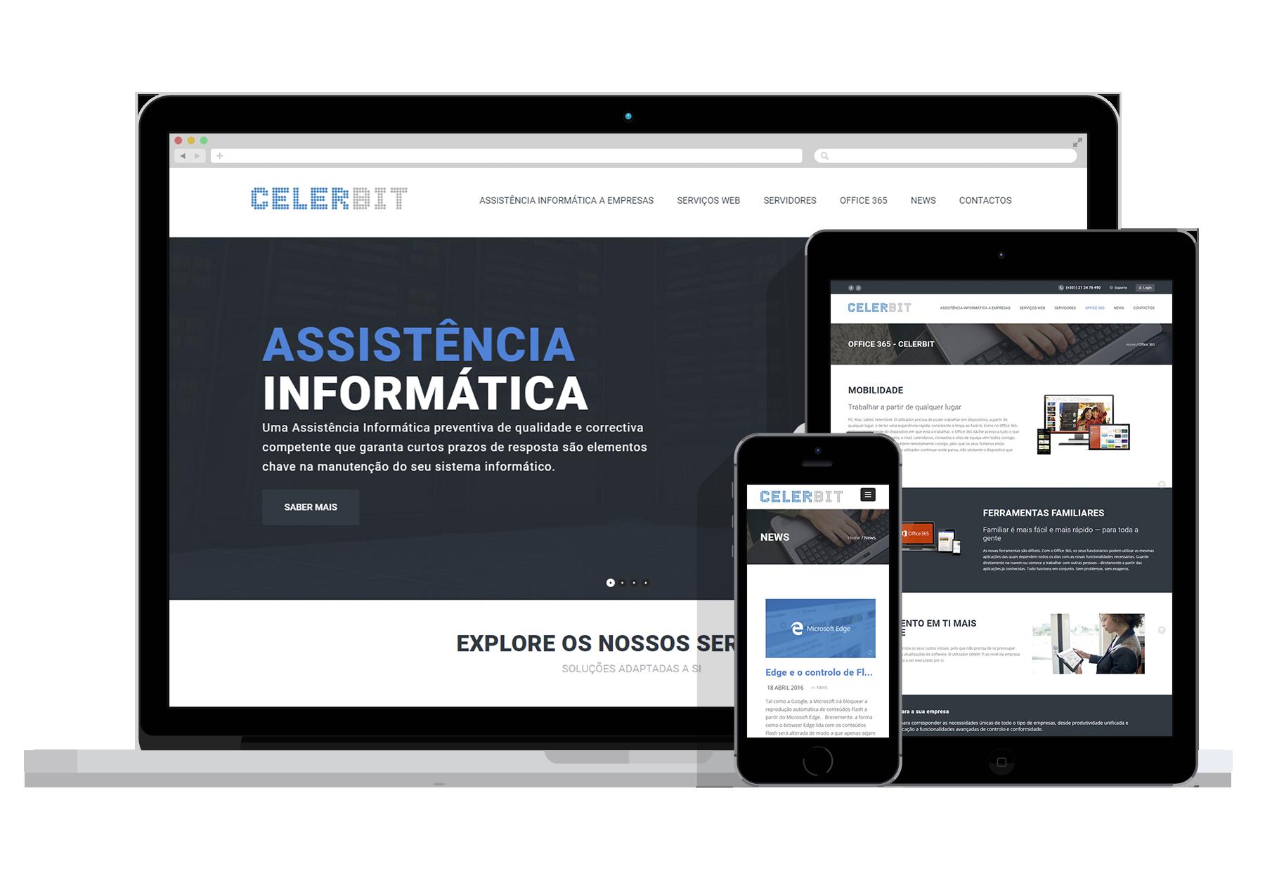 Design e criação de Sites e Blogs Profissionais