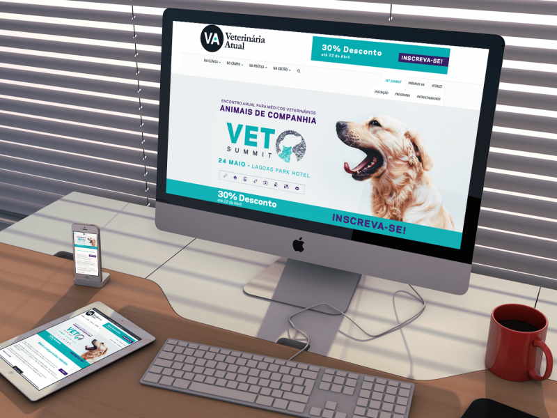 Website Veterinária Atual